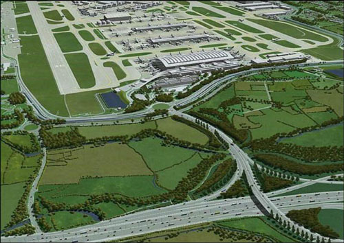 Heathrow airport - terminal 5