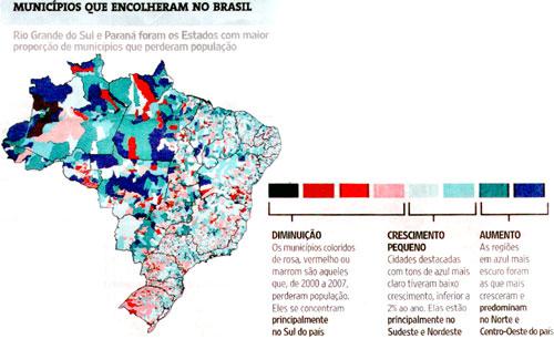 Image Folha de São Paulo / IBGE